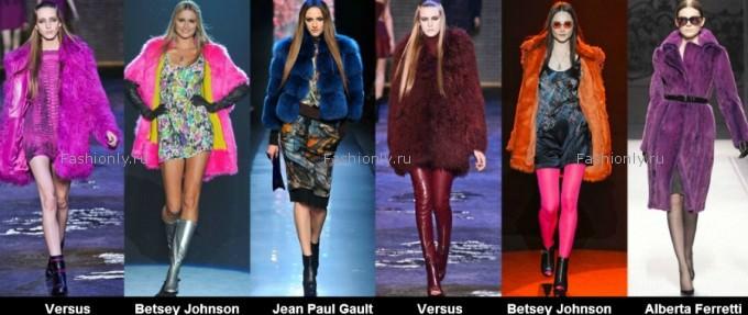 Модные шубы 2012 2013 фото (7)