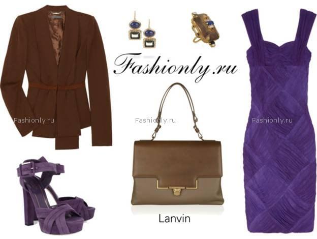 Для молодежного образа выберите коричневую сумку-портфель или satchel...