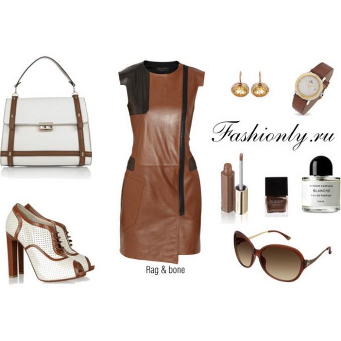 С чем носить кожаное платье (3). Кожаное платье с чем носить (3)