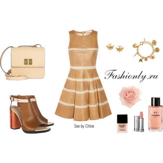С чем носить кожаное платье (2). Кожаное платье с чем носить (2)