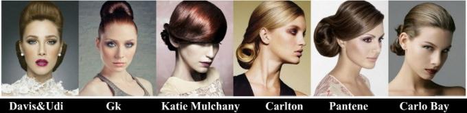 Выпускные прически 2012 года для тонких и гладких волос