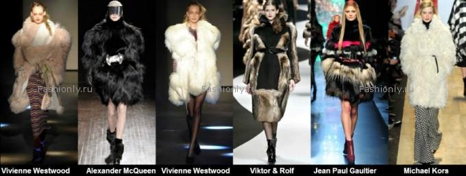 Модные шубы 2012 2013 фото (2)