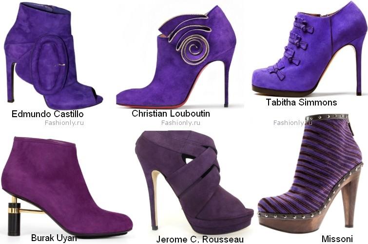 Модные ботильоны осень 2012 (6)