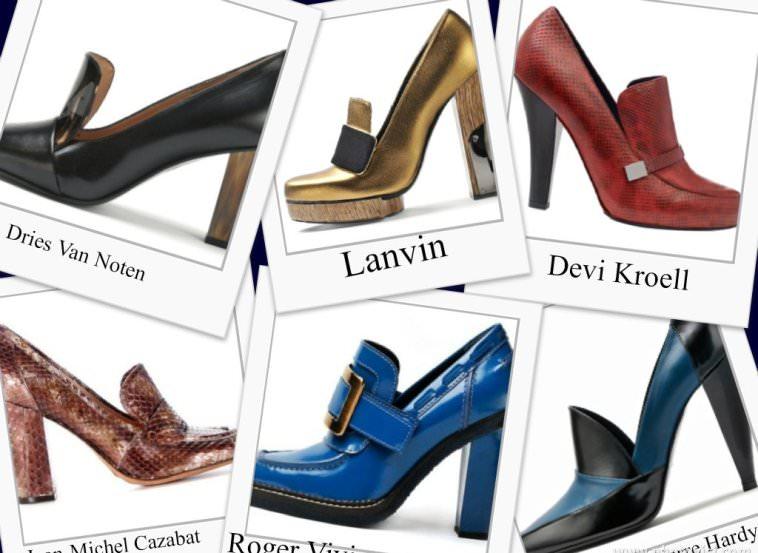 Модные туфли в британском стиле - осень 2012