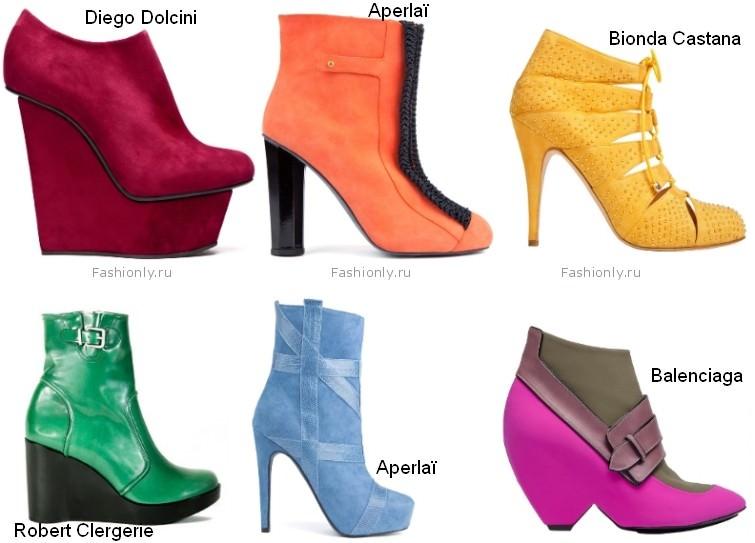 Модные ботильоны осень 2012 (9)