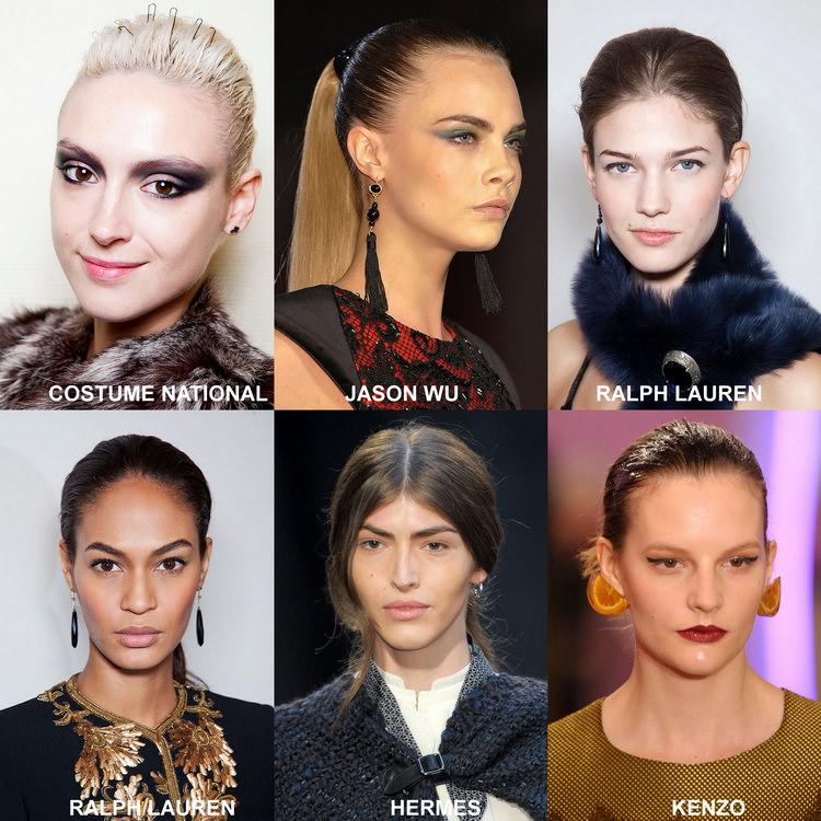 Модные прически осени 2012 (2)