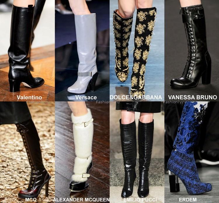 Самая модная обувь осени 2012 года (8)