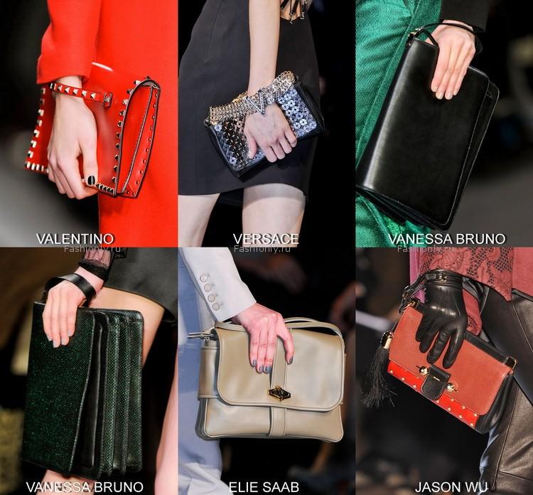 Модные сумки осень-зима 2012-2013 / фото актуальных женских.