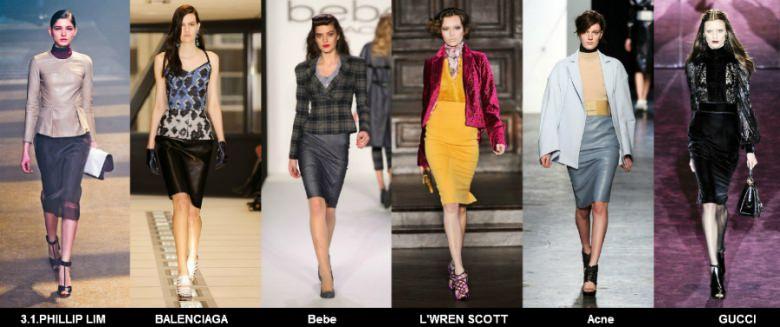 Модные юбки 2012 осень фото (1)