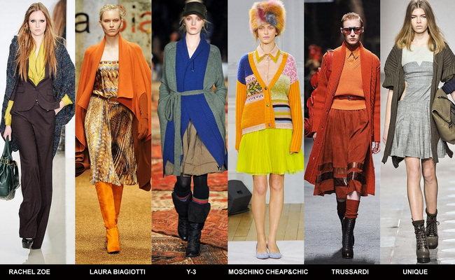 Модные кардиганы осени 2012 года (6)