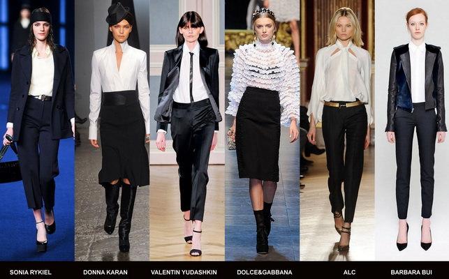Модные блузки осени 2012 (8)