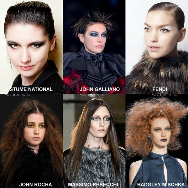 модный макияж 2012 осень зима (4)