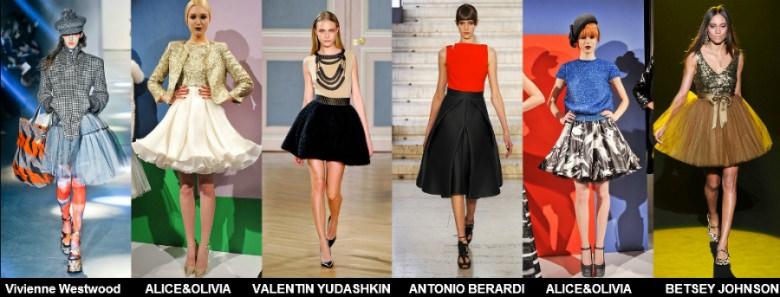 Модные юбки 2012 осень фото (2)