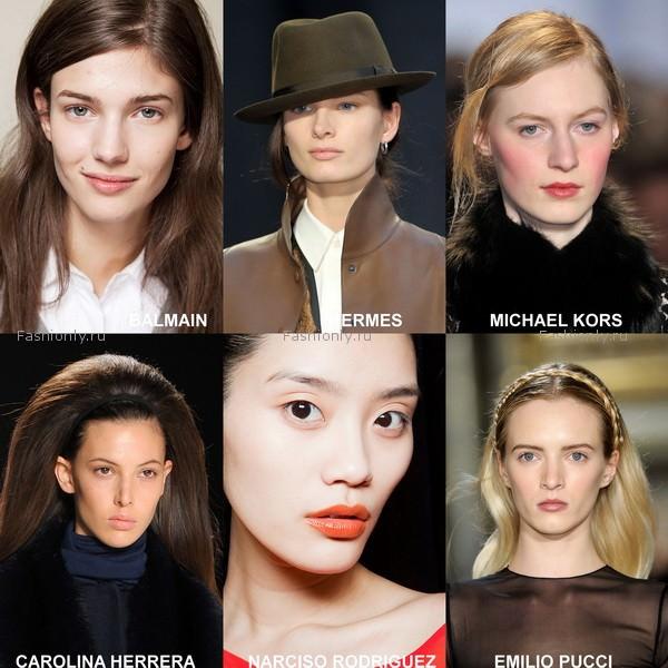 модный макияж 2012 осень зима (3)
