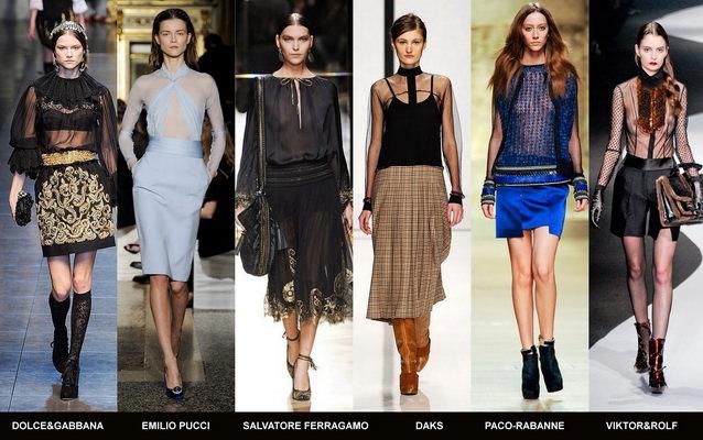Модные блузки осени 2012 (6)