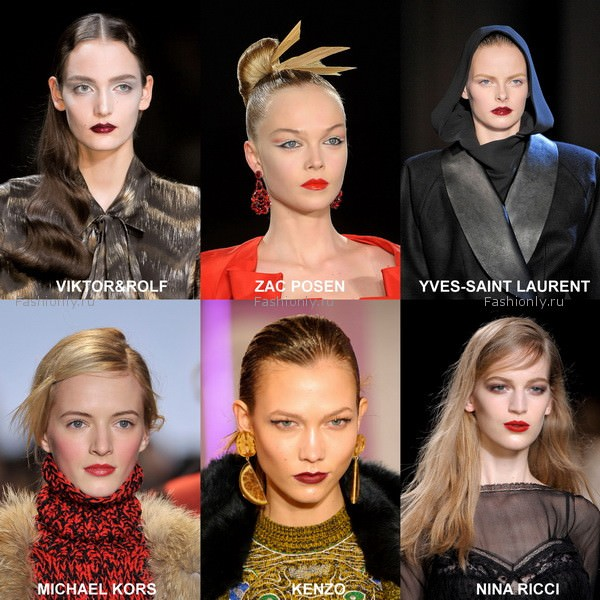 модный макияж 2012 осень зима (1)