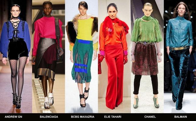 Модные блузки осени 2012 (4)
