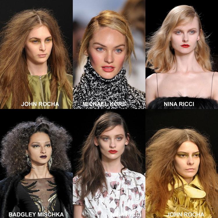 Модные прически осени 2012 (6)