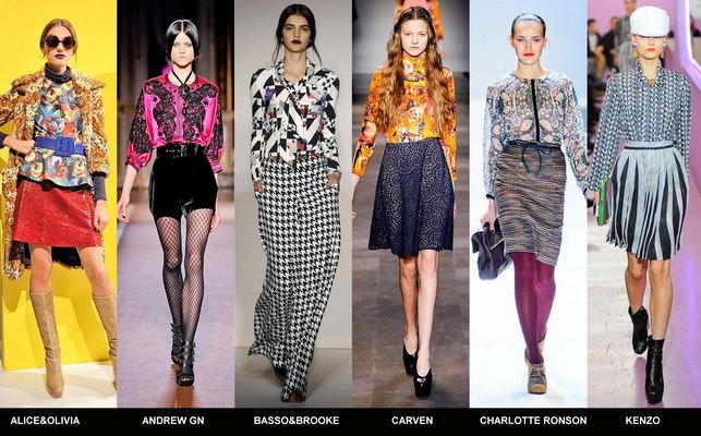 Модные блузки осени 2012 (3)