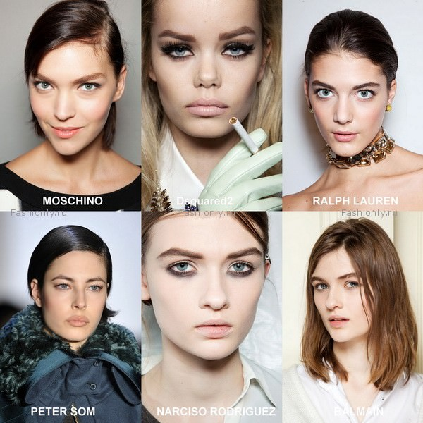 модный макияж 2012 осень зима (8)