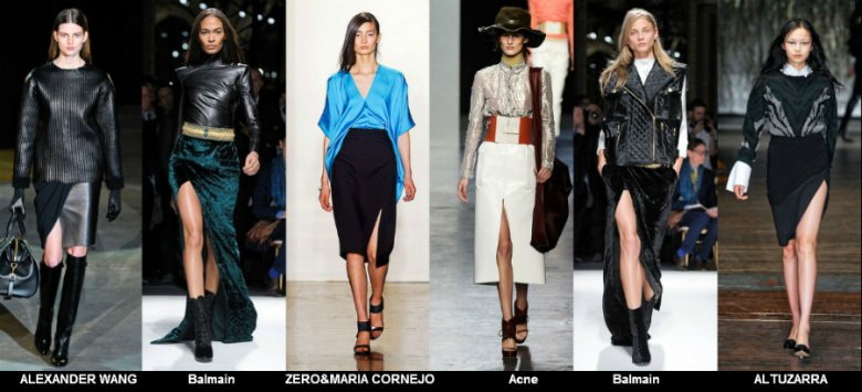Модные юбки 2012 осень фото (4)