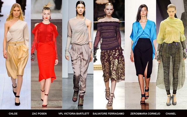 Модные блузки осени 2012 (1)