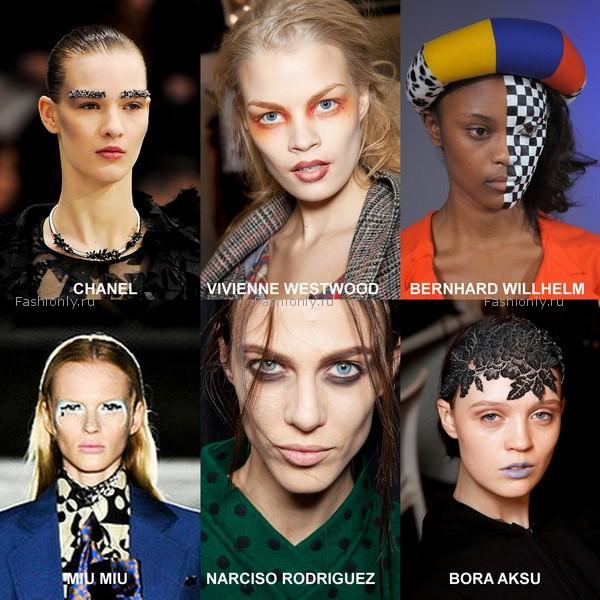 модный макияж 2012 осень зима (6)