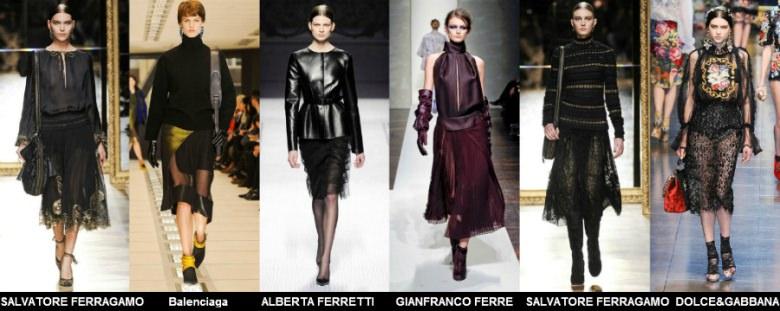 Модные юбки 2012 осень фото (5)