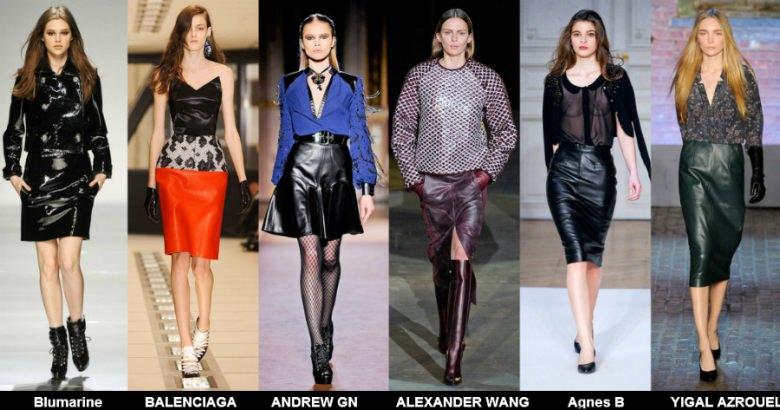 Модные юбки 2012 осень фото (6)