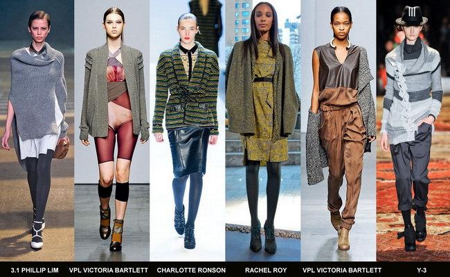 Модные кардиганы осени 2012 года (1)