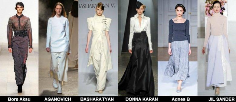 Модные юбки 2012 осень фото (7)