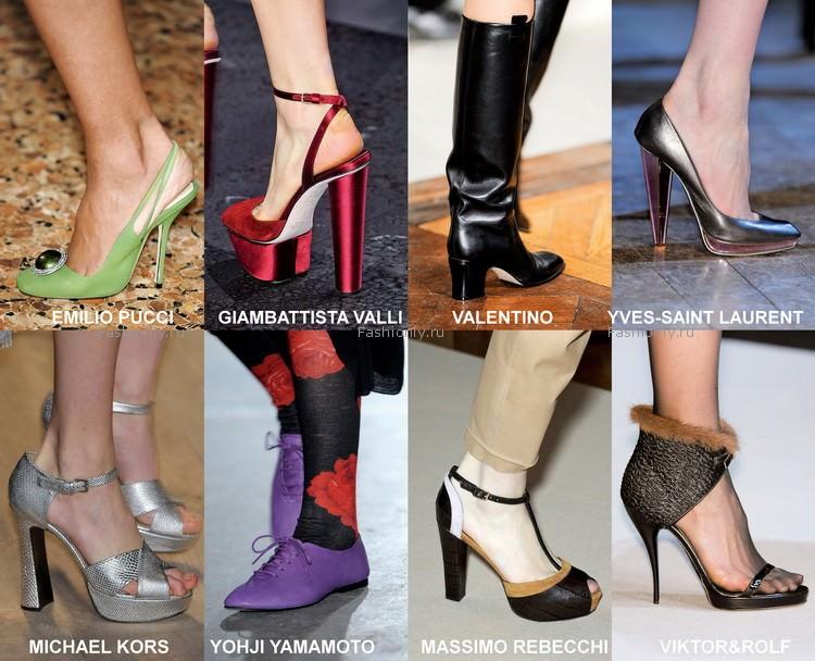 Самая модная обувь осени 2012 года (5)