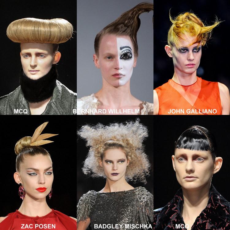 Модные прически осени 2012 (4)