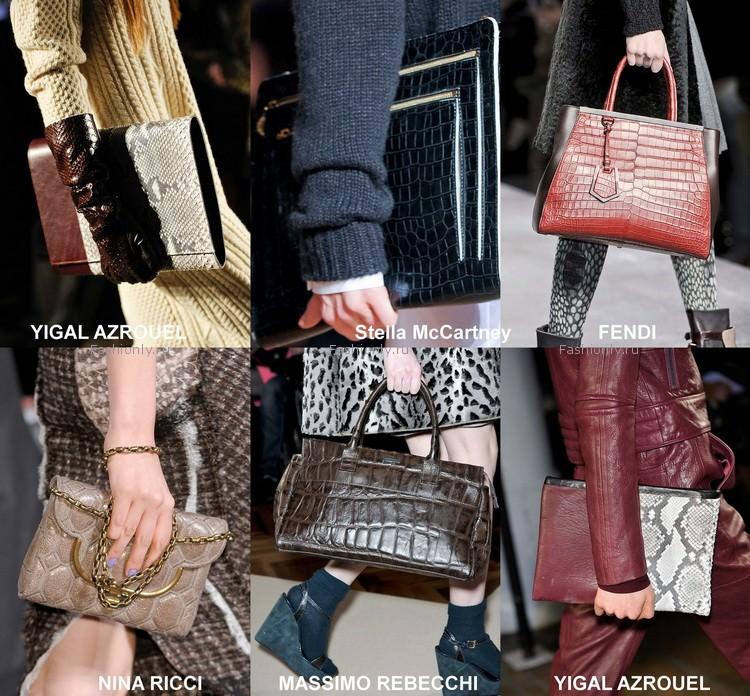 Модные сумки осени 2012 (3)