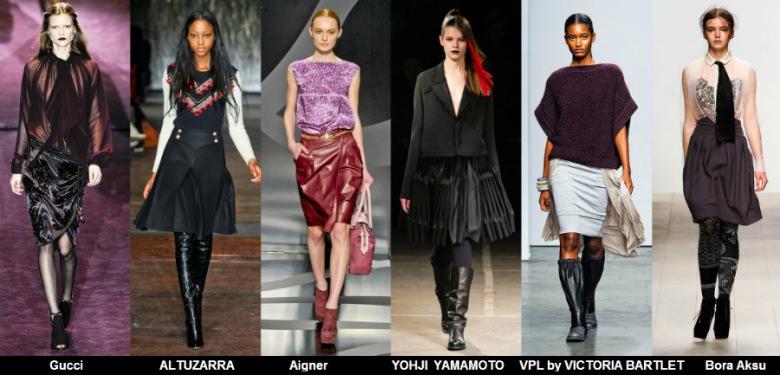 Модные юбки 2012 осень фото (9)
