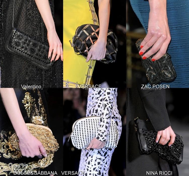 Модные сумки осени 2012 (5)