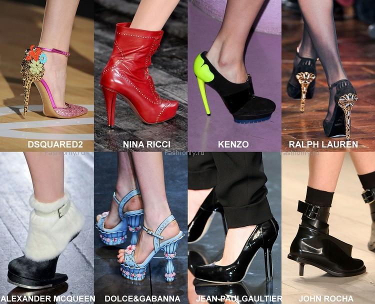 Самая модная обувь осени 2012 года (3)
