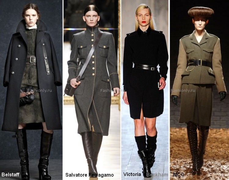 Осенью 2012 в моде милитари