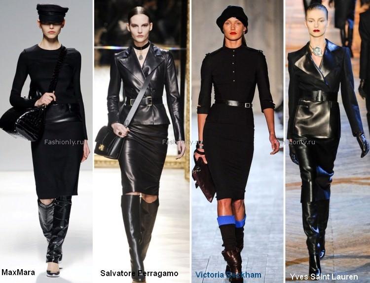 Милитари снова в моде осенью 2012