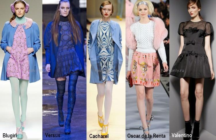Стиль беби долл в моде осенью 2012 года