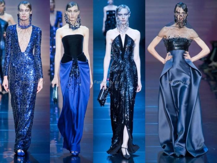 Что одеть на Новый год 2013 - Armani Prive