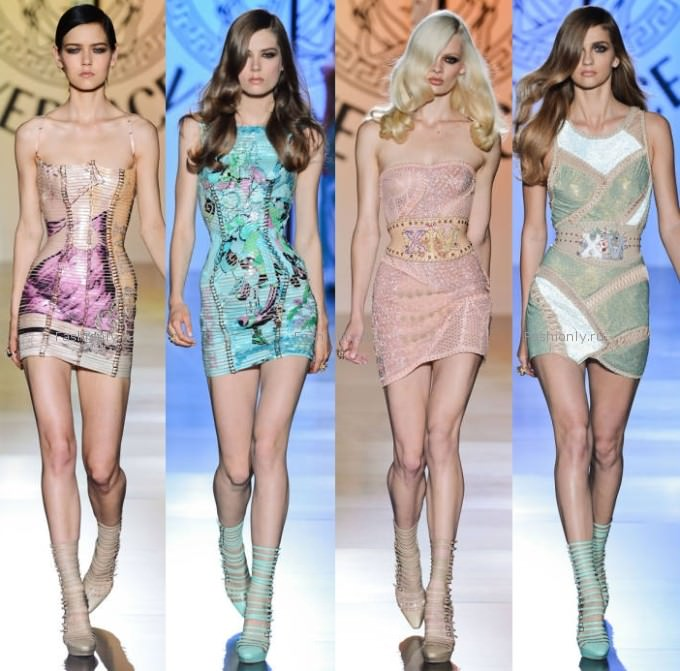 Что надеть на Новый Год 2013 - идея от Versace