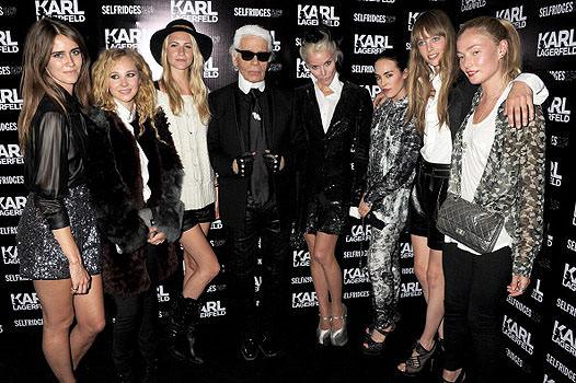 Карл Лагерфельд –мода сквозь время
