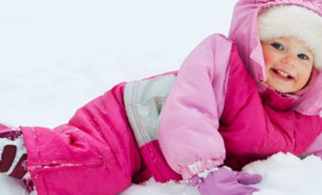 Выбор зимнего комбинезона для ребенка Image