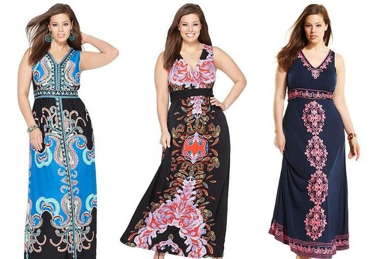 Модные сарафаны больших размеров Image
