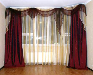Модный дом: дизайн штор