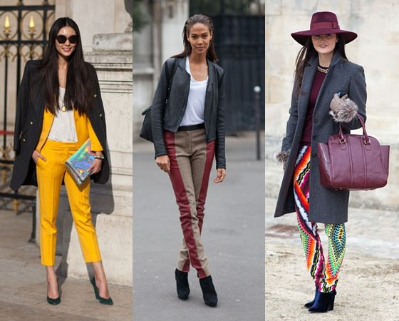 Какие брюки в моде летом 2013 года?