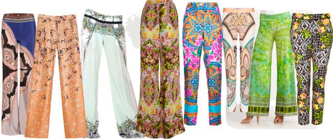 Какие брюки в моде летом 2013 года? Image
