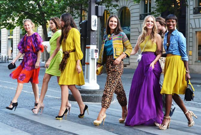Мода этого лета: какие цвета лучше использовать в одежде?