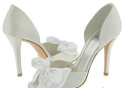 Цветные свадебные туфли 2013
